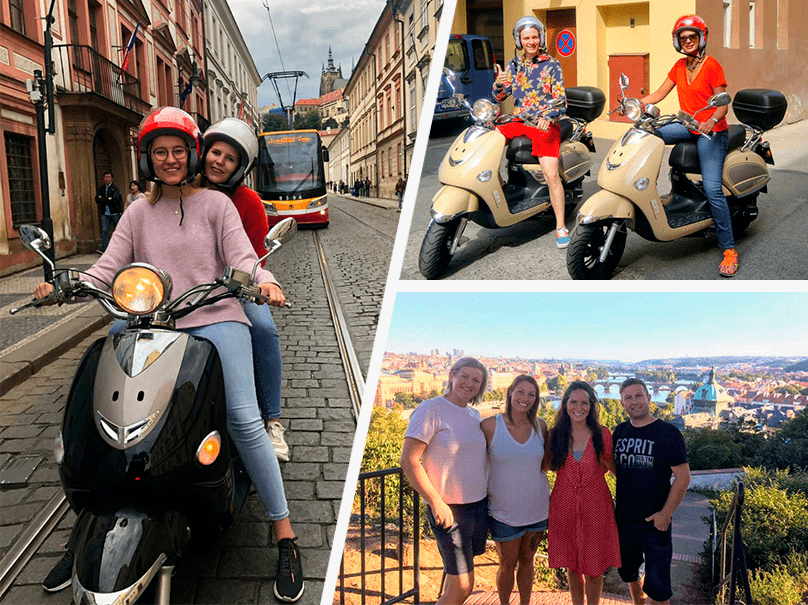 Scooter tour in Prague